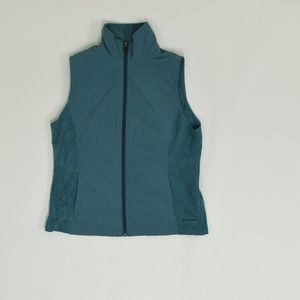 Columbia Regular M Blue   Full Zip Jacket Polyeste